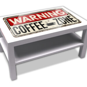 Warning coffe zone