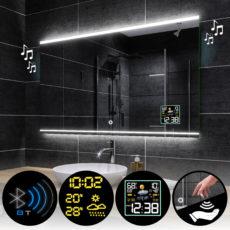Lustra łazienkowe podświetlane prostokątne